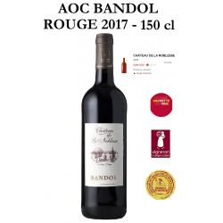 Vins rouges AOC BANDOL du Château de Noblesse - Cuvée Noblesse 2017
