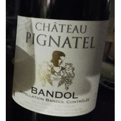 75 cl - Rouge Pignatel 2005