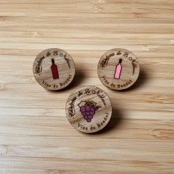 Pin's - Bouteille Rouge -...